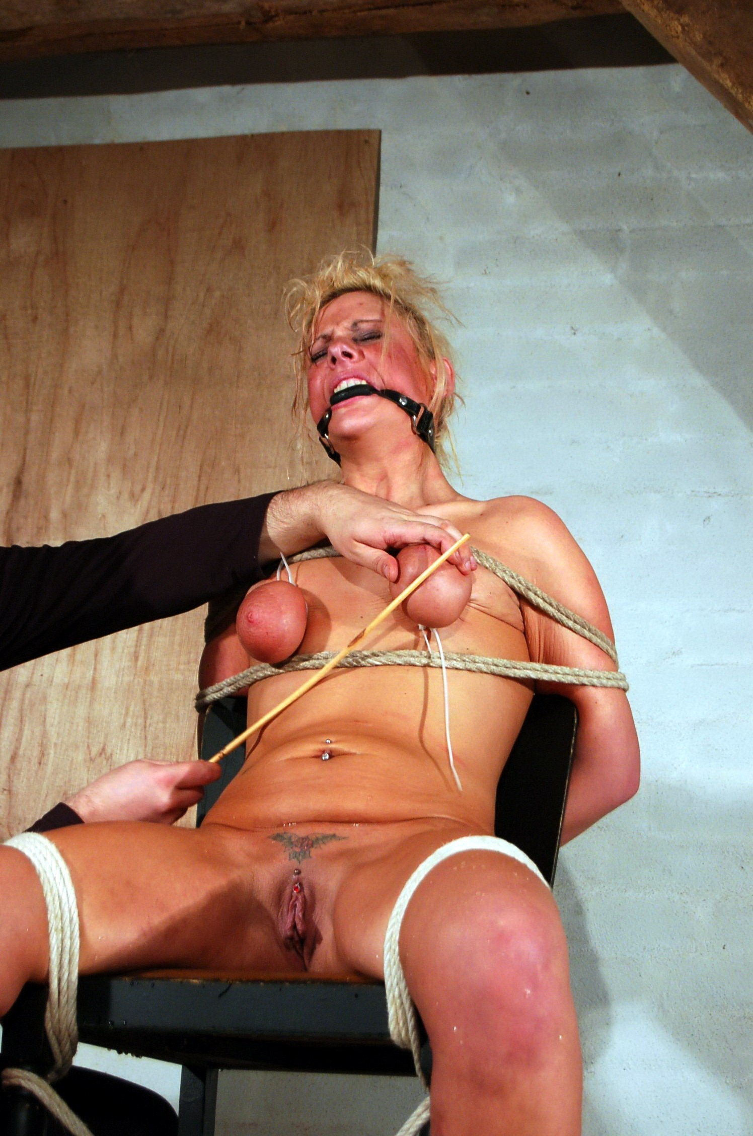 Tits Caned