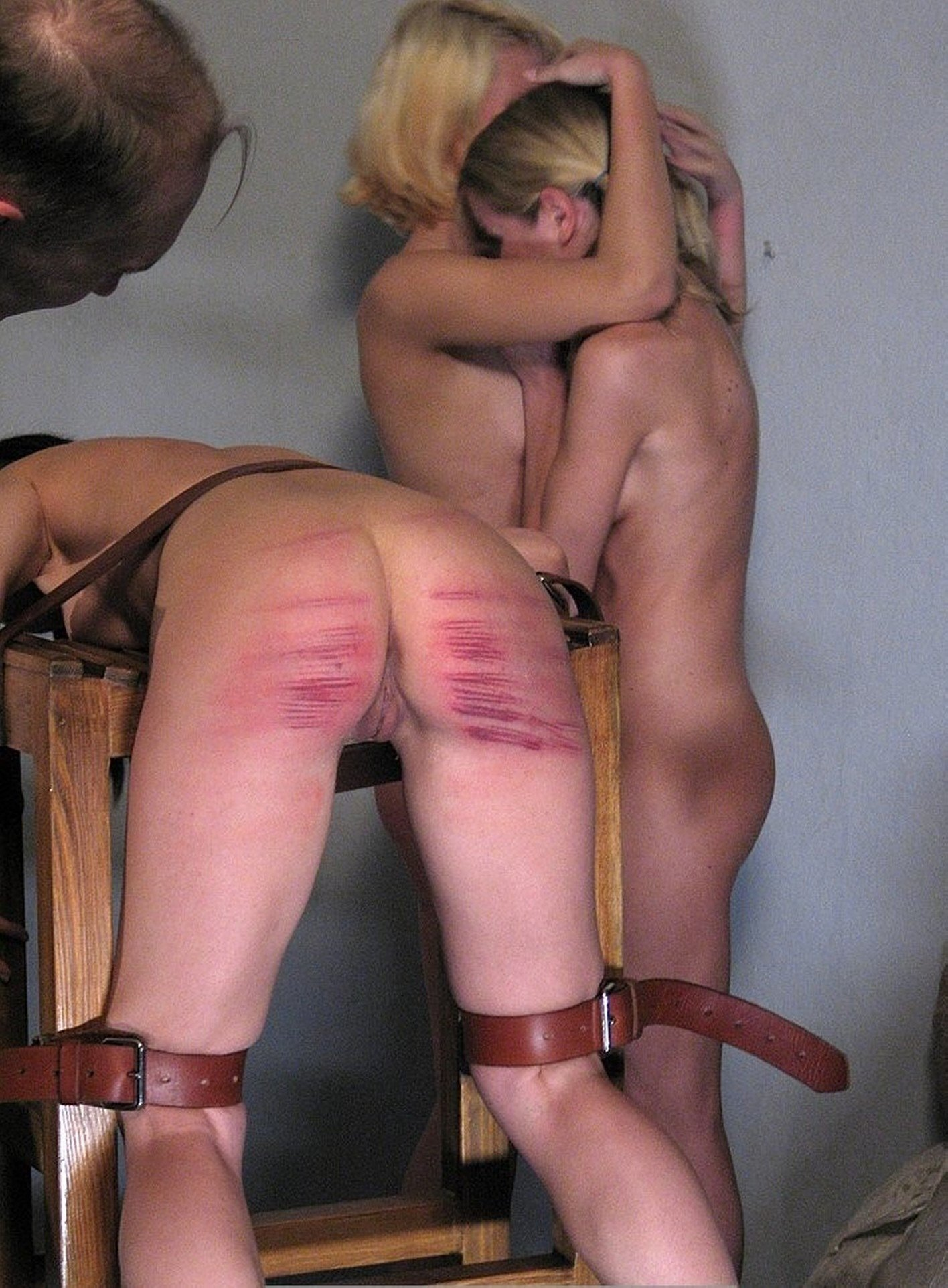 Tickling and spanking